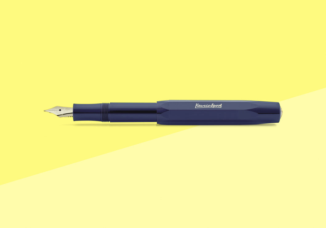KAWECO - Sport Fountain Pen - Navy