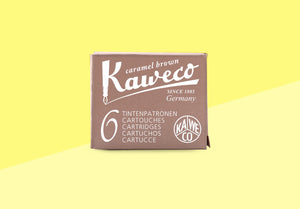 KAWECO - Ink Cartridges - Caramel Brown