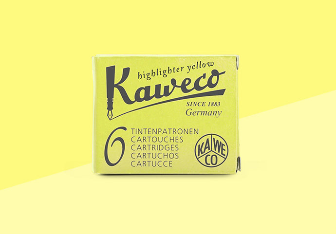KAWECO - Ink Cartridges - Highlighter Yellow