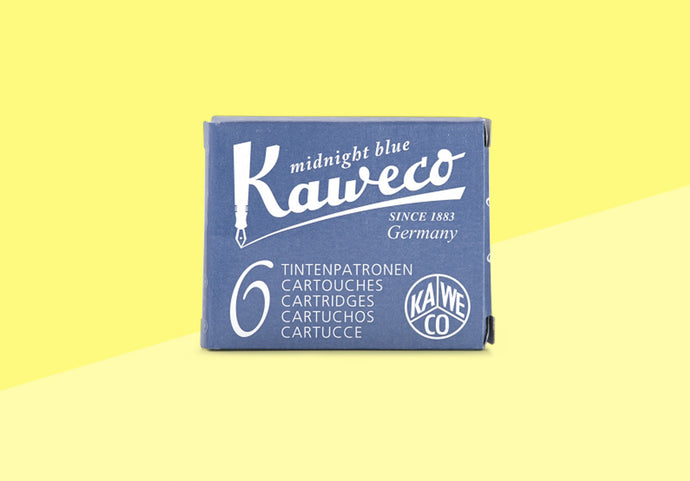 KAWECO - Ink Cartridges - Midnight Blue