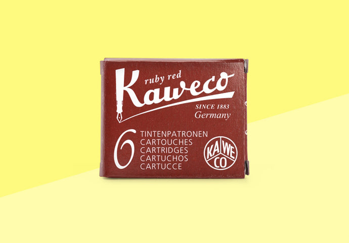 KAWECO - Ink Cartridges - Ruby Red