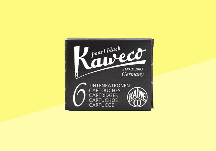 KAWECO - Ink Cartridges - Pearl Black