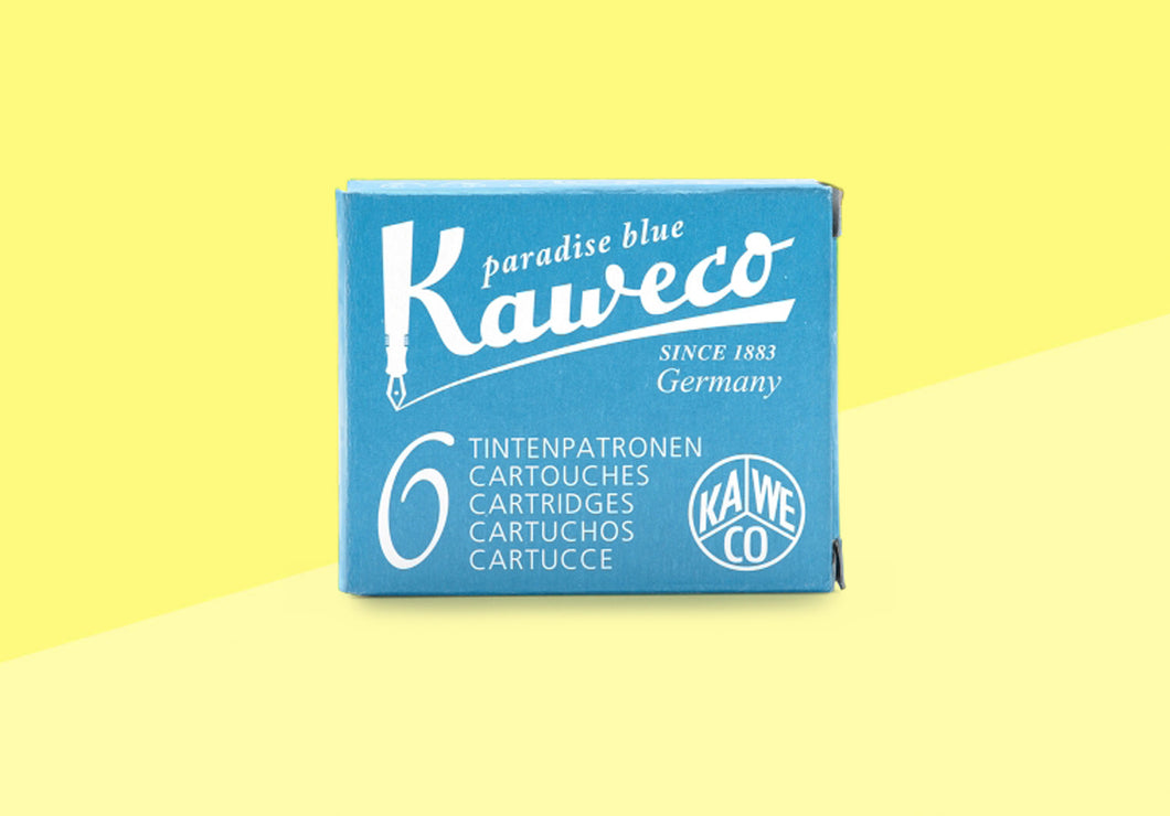 KAWECO - Ink Cartridges - Paradise Blue