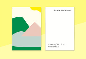 "business cards  – ""lac"""