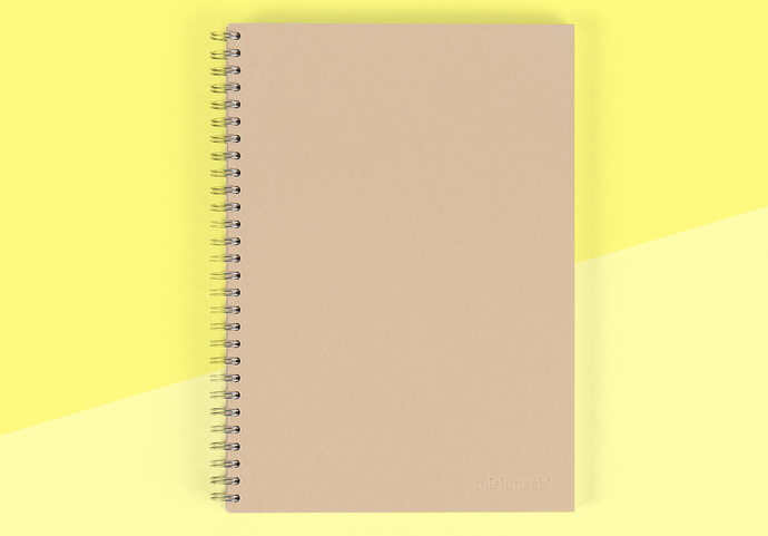 MISHMASH - Handybound Notebook - Stone