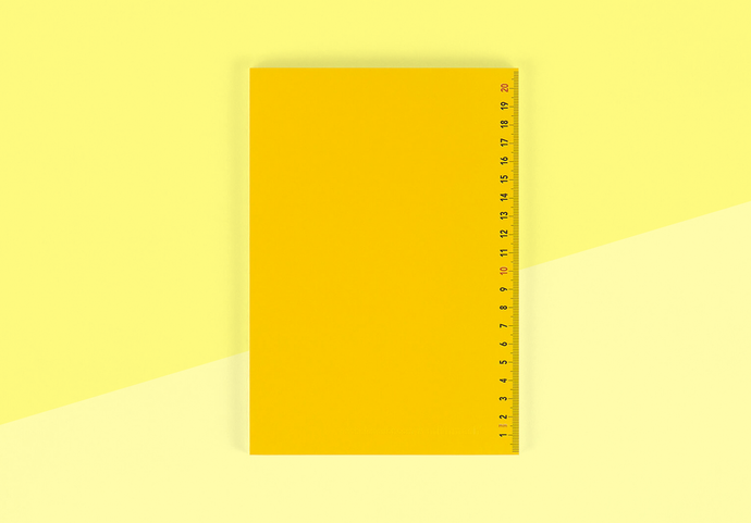 MISHMASH & Michel Charlot - Notebook - A5 Yellow
