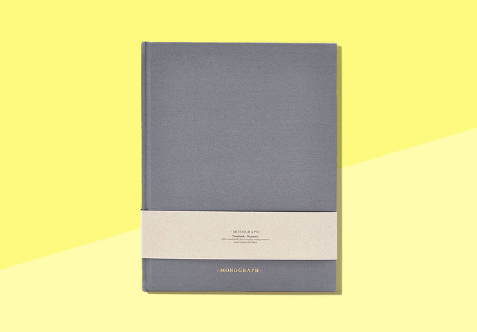 MONOGRAPH - notebook - blue