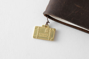 Traveler's company – limited edition brass charm