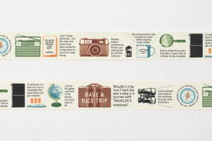 Traveler's company – limited edition washi tape