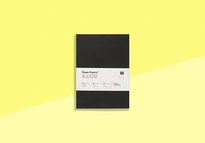 Paper Poetry - 10 envelopes - C6 black