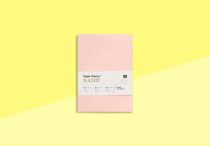 Paper Poetry - 10 envelopes - C6 pink