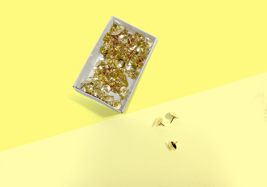 Paper Poetry - Pins - gold