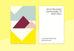 "business cards  – ""pyramid"""