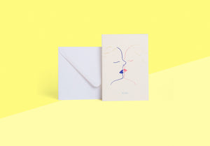 Season Paper Collection - Card - Baiser