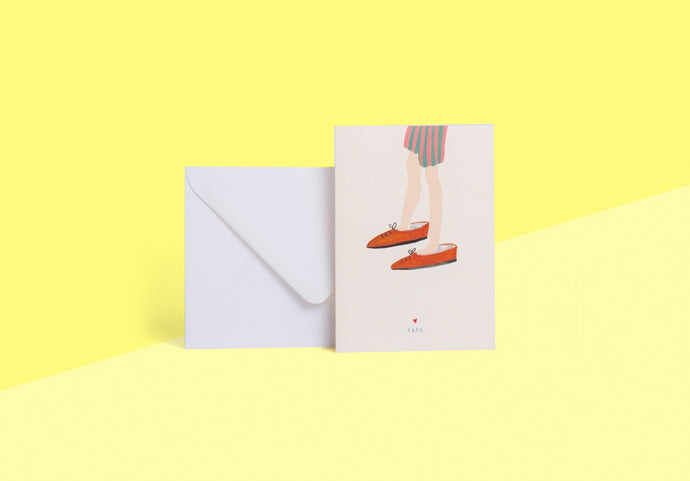 SEASON PAPER COLLECTION - Card - souliers papa