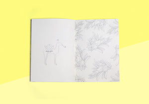 Season Paper Collection - colouring notebook les animaux