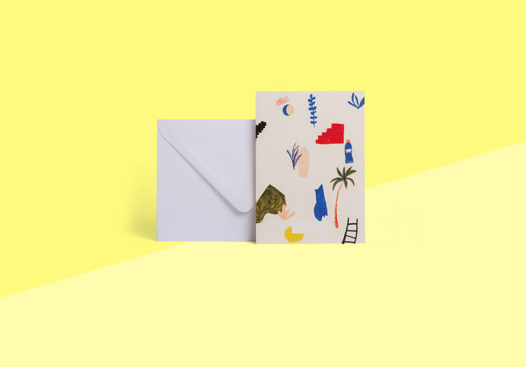 Season Paper Collection - Card - Palette