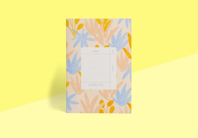 Season Paper Collection - Monthly planner Pampa
