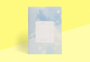 Season Paper Collection - Monthly planner ciel