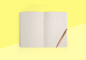 Season Paper Collection - Notebook Plumes nuage