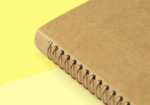 TRAVELER'S COMPANY - Spiral Ring Notebook - A6 Slim DW Kraft