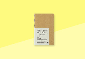 TRAVELER'S COMPANY - Spiral Ring Notebook - A6 Slim blank
