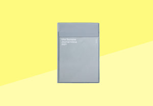 HIGHTIDE - Diary 2021 monthly - B6 grey