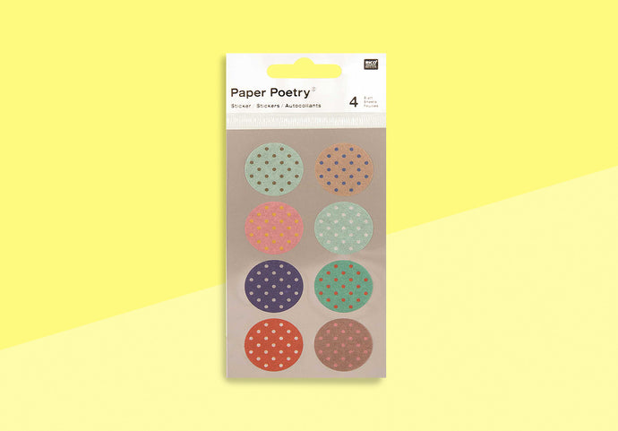 Paper Poetry - Washi Sticker - 25mm