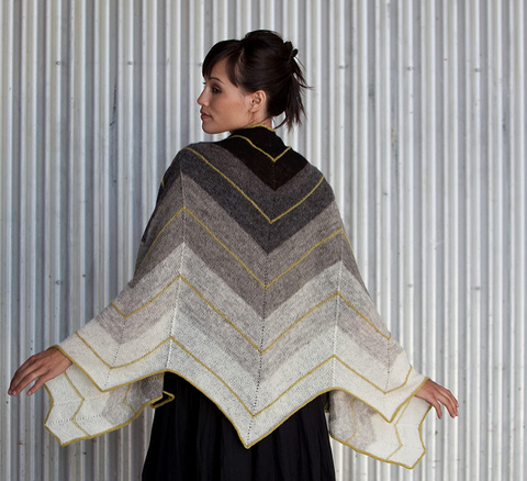 Image of Dawn Shawl by Grace Anna Farrow