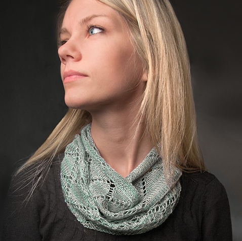 Image of Sea Salt Cowl Knitting Pattern by Keli Hansen