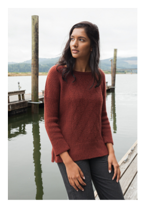 35d3cf55 It's a universally appealing garment that works for women and men of all  ages. Knit one for yourself, your brother or your teenage granddaughter.