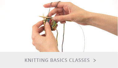 Knitting Basics Classes
