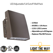 LED Adjustable Full Cutoff Wall Packs