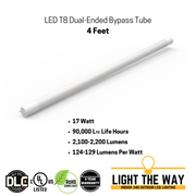 LED T8 Dual-Ended Bypass Tubes