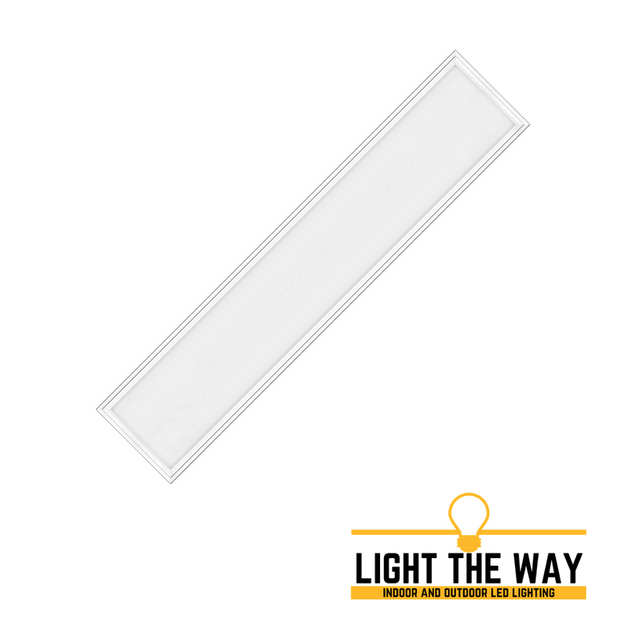 1ft x 4ft LED Flat Panel Light. Ceiling Grid Light.