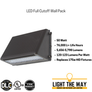 LED Full Cutoff Wall Packs
