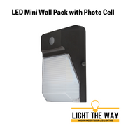 LED Mini Wall Pack with Photo Cell