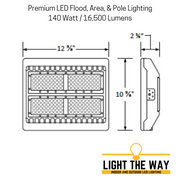 Large Premium LED Flood, Area, & Pole Lighting