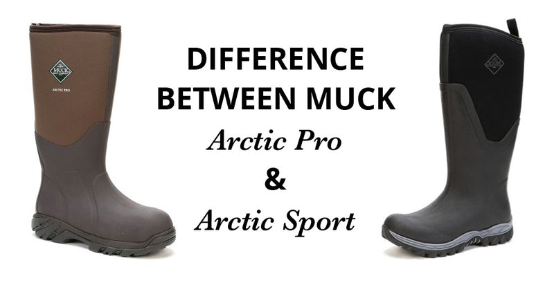 The Difference Between The MUCK Arctic Pro & Arctic Sport