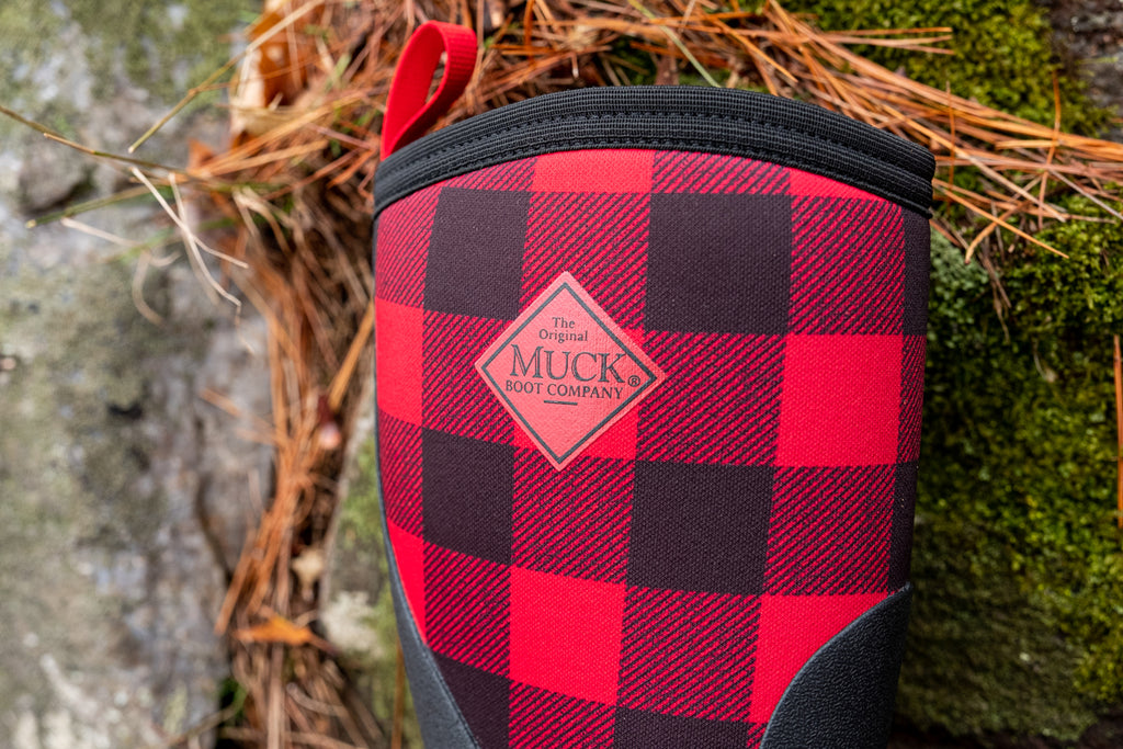 The Original Muck Boot Company Buffalo Plaid