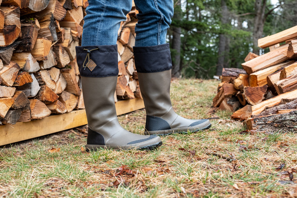 perfect spring rubber boots for rain and yard work by Muck Boot Company