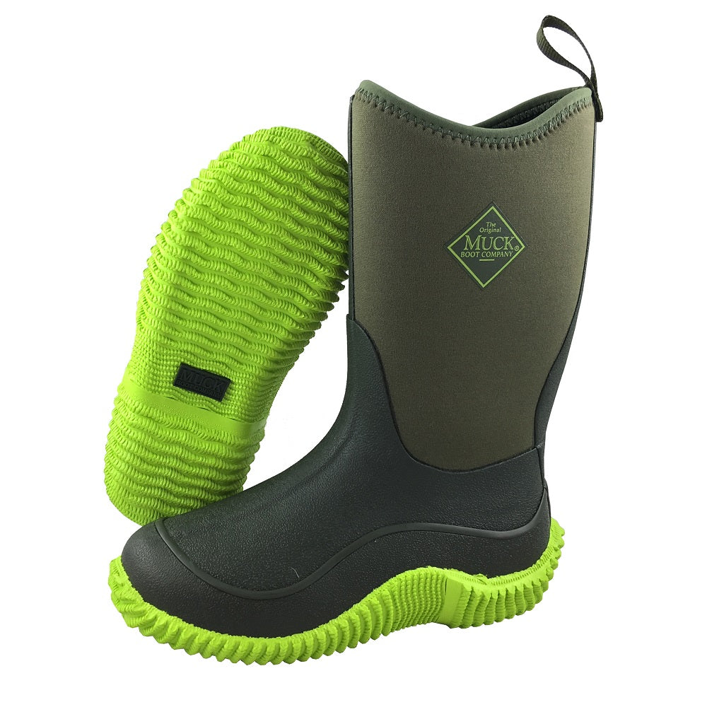 408a2df04e4 Kids Hale Muck® Boots - Moss Lime Green - Canadian Great Outdoors