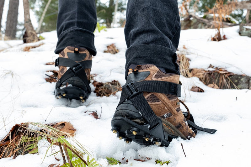 ICER'S XT™ Ice & Snow (Non-Sparking) BRASS Traction Cleats