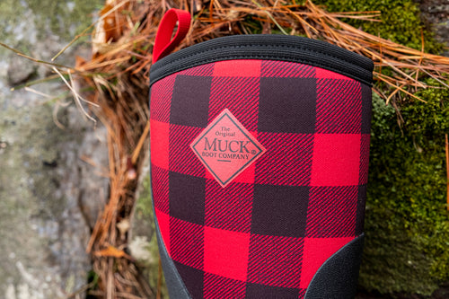 Kids Rugged II Muck Boots Plaid