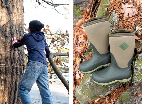 Kids Rugged II Muck® Boots Moss Green