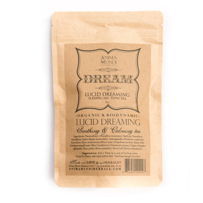 Anima Mundi Lucid Dreaming Tea Third Eye Tonic