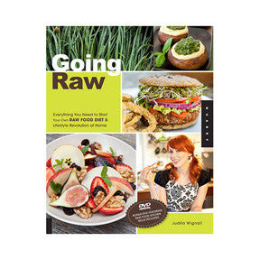 Going Raw Book by Judita Wignall