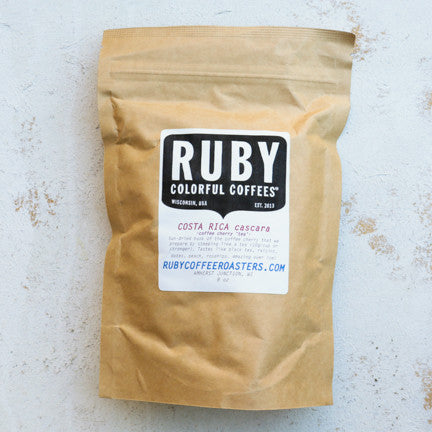 Ruby Roasters Cascara Coffee Tea