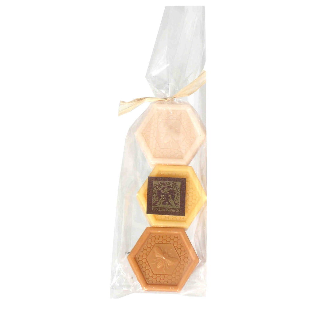 Honey Soap Set 3x0.88oz./3x25g