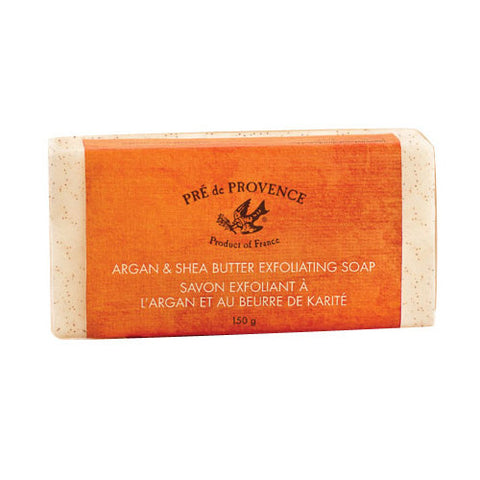 Argan and Shea Butter Exfoliating Soap 5.2oz./150g